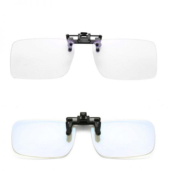 Anti-Blue Light Clip-On Gaming Glasses