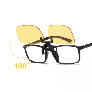 Anti-Blue Light Clip-On Gaming Glasses
