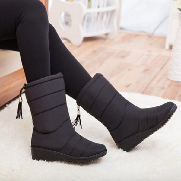 Woman Fashion Mid Calf Boots