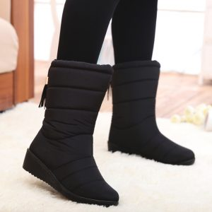 Woman Fashion Mid Calf Boots
